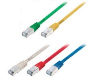 Patchkabel (e`)  F/UTP 2xRJ45 Cat.5e <u>grau 10,0m</u>