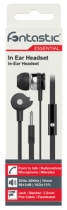 Essential Stereo Headset, 3,5mm Klinke, Schwarz