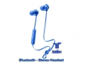AQL Wireless Bluetooth In-Ear Headset Music Sound (blau)